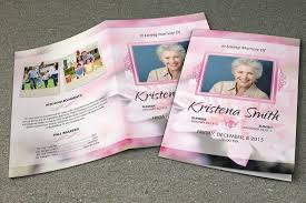 Funeral Programs Templates Free Download Funeral Program Template Memorial Program Template Order Of 18