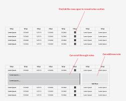 data table design. Slide Out Notes. Gui-design Tables Wireframe Data-tables Data Table Design