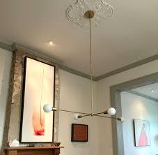 How To Center A Bathroom Light Fixture Volta Chandelier Lighting Light Fixtures Chandelier