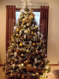 42 Brown Christmas Tree Decorations Ideas