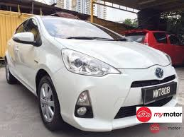 2012 Toyota Prius c for sale in Malaysia for RM52,000 | MyMotor