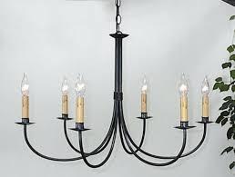 wrought iron chandeliers ace plain six arm chandelier j candle australia wrought iron chandeliers