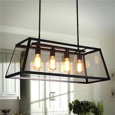 large pendant lights for kitchen 4 head industrial chandelier led ceiling light modern large pendant lamp