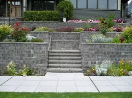 Backyard Retaining Wall Designs Beauteous Retaining Walls Mutual Materials