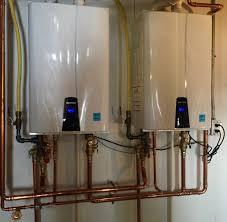 Gas Water Heater Installation Kit Review Navien Npe 240a Tankless Water Heater Mechanical Hub