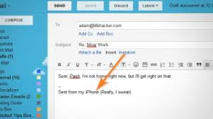 work email signatures use your email signatures to get overeager coworkers off your back