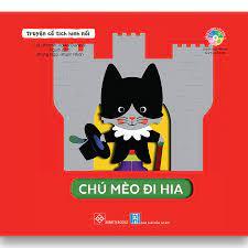 Truyện cổ tích hình nổi - Chú Mèo đi hia – DINHTIBOOKS