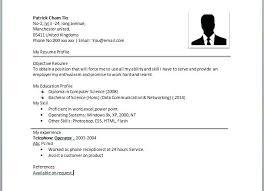 Long Resume Format Simple Resume Format Legitimate Pics Example Of A