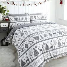 white single bedding sets noel grey quilt cover sets festive duvet throughout covers idea 1 white white single bedding