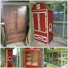 diy repurposed furniture. turn an old armoire into a chicken coopthese are awesome upcycled u0026 diy repurposed furniture
