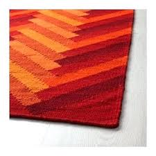 designer thoughts red and orange rug teal runner