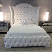 Full Size Tufted Bed Frame | zybrtooth.com