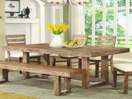 rustic dining tables elegant elmwood rustic u base dining table by coaster from