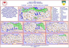 Haftalık Hava Durumu (21 - 27 Ağustos... - Burdur Meteoroloji Müdürlüğü