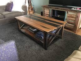 diy rustic coffee table al on imgur tables with pallets u6