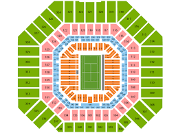 Us Open Arthur Ashe Seating Chart Viptix Com Arthur Ashe Stadium At The Billie Jean King