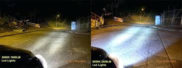 3000k led light below compare led light to led light please notice both models are 3000k led light
