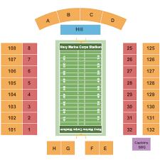 Navy Marine Corps Memorial Stadium Seating Chart Annapolis