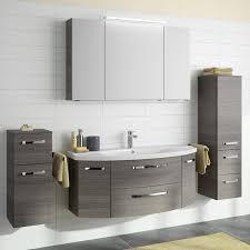 Badezimmer Möbel Set Fes 4010 66 In Graphit Struktur Quer Mit 120cm Wa