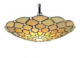 raindrop easy fit pendant light with clear droplet tiffany glass