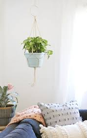 learn how to make your own simple diy macrame plant hanger full photo instructions