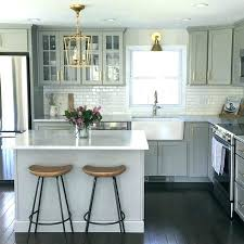kitchen cabinet colors for small kitchens. Small Kitchen With White Cabinets Kitchens Subway Tile Cabinet Colors For I
