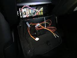 hardwiring dashcam audi q3 forum to hide the big batch of wires i tied them up above the fuse box