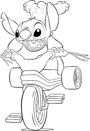 Small Picture 10 Cute Lilo And Stitch Coloring Pages For Toddlers Stitch