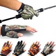 Anti Slip Venkovní Rybářské Rukavice 3 Prsty 5 Prsty Rukavice Pro Muže Proti
