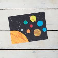 best planets images outer space solar system  create your own solar system out of construction paper and oil pastels inspired by the