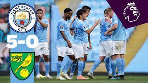 Manchester city football club is an english football club based in manchester that competes in the premier league, the top flight of english. Highlights Man City 5 0 Norwich Jesus De Bruyne Sterling Mahrez De Bruyne Youtube