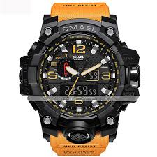 [$21.99] <b>SMAEL Men's</b> Sport Watch Military Watch Wrist Watch ...