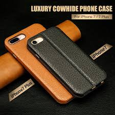 jisoncase genuine leather phone cases for iphone 7 7 plus case leather magnetic mobile flip smart cover for iphone 8 8 plus 5 5 ballistic cell phone