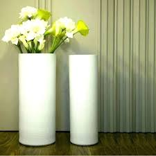S Modern Floor Vases Tall White Contemporary Ceramic Vase Large Floo