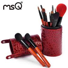 conner makeup brush cup holder portable big make up brushes travel home beauty case oval holder