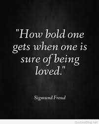 Quotes About Being Loved Amazing Sure Of Being Loved Quote