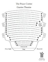 Peace Center Greenville Seating Chart Reasonable The Peace Center Greenville Sc Seating Chart 2019