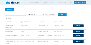 Get Your Jobscience WordPress Plugin