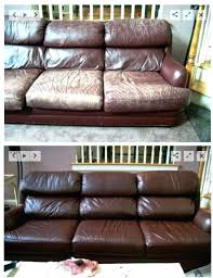 reupholster leather couch decortg cost cushions furniture