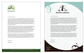 Business Letterhead Samples