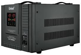 <b>Стабилизатор напряжения</b> однофазный <b>Uniel</b> RS-1/10000LS ...