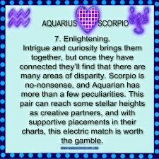 21 Logical Aquarius Scorpio Compatibility