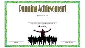 Fun Run Certificate Template Editable Running Certificate 3 Paddle At The Point
