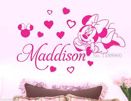 wall decal for baby girls nursery wall art decor in wall stickers from