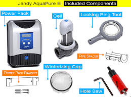 jandy aquapure ei review salt chlorine generator jandy aquapure ei included components