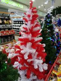 Red \u0026 White Christmas Tree - Gifts Festival More