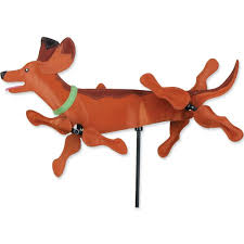 Small Picture Amazoncom Whirligig Spinner 20 In Dachshund Spinner Patio