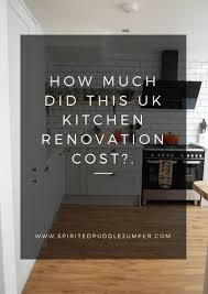Small Picture How much did our UK Kitchen Renovation Cost The Spirited Puddle