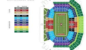Levis Stadium Seating Chart 49ers Stadium Seats Pricing Chart Levis Seating 3d Noahd