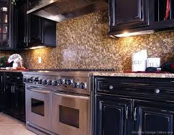 stone kitchen backsplash dark cabinets. Perfect Kitchen Kitchen Stone Backsplash Dark Cabinets Amazing On For With Styled  Bakery Sign 7 H